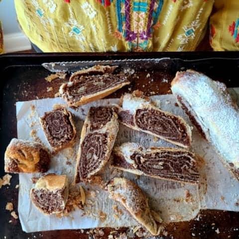 croatian nut roll povitica