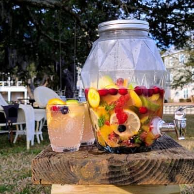 vodka infused gypsy fruit drink