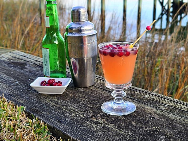 ruby red grapefruit martini