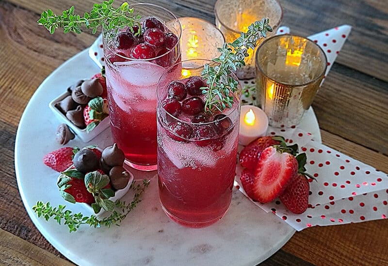 pink lady apple cocktail