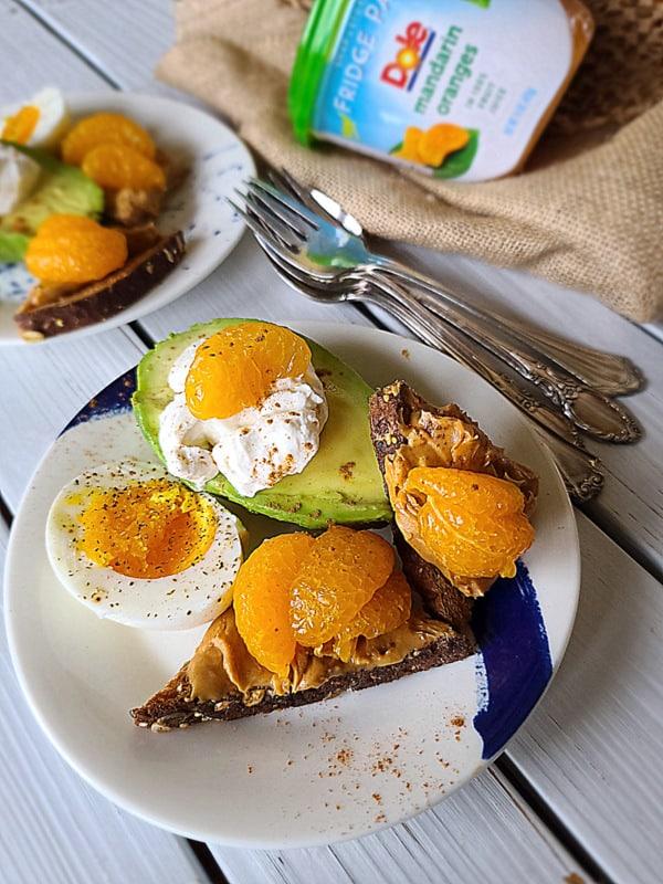 power breakfast plate
