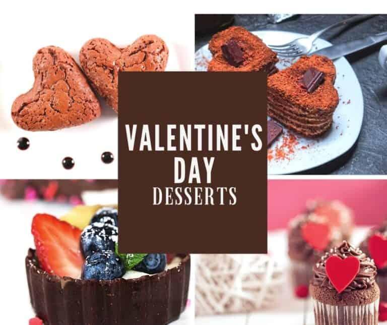 6 easy valentine's desserts