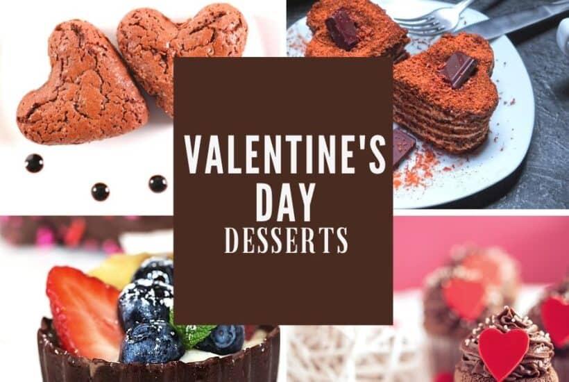 easy valentine's desserts