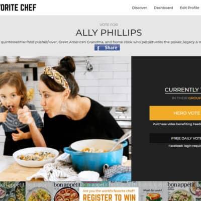 Fav Chef Contest