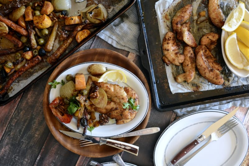 brilliant one pan dinners