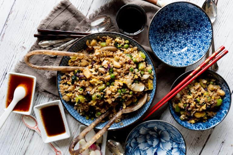easy asian fried rice