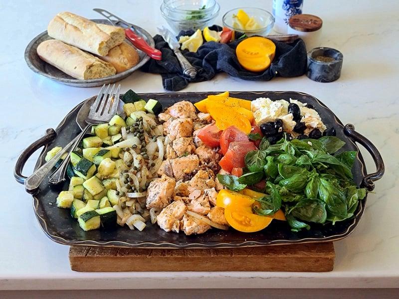 fabulous salmon platter