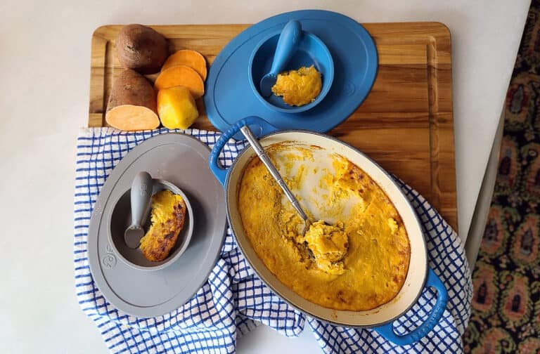 Grandma's Healthy Sweet Potato Baby Food