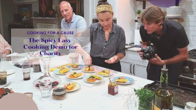 The Easy Spicy Cooking Demo for Charity
