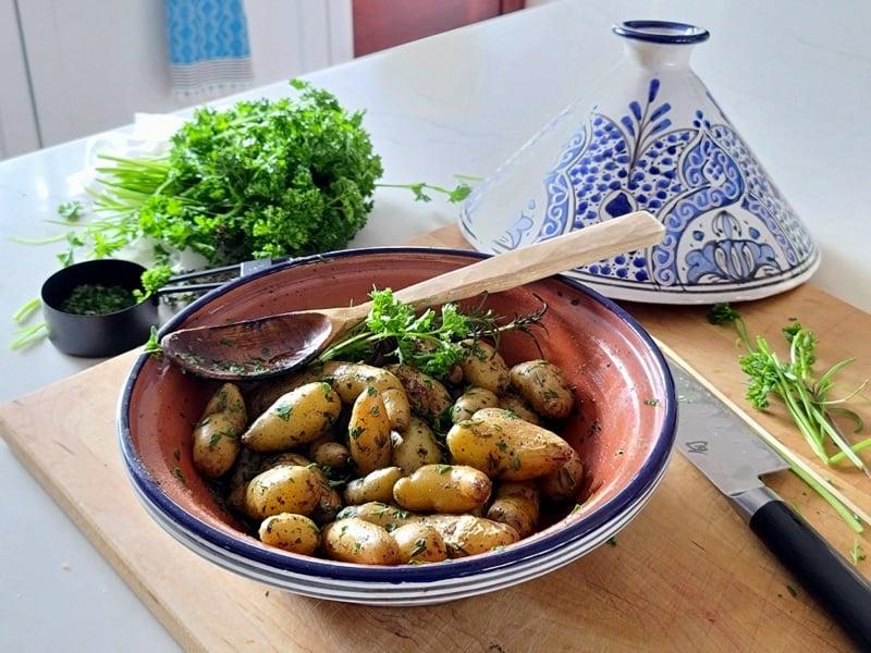 greek fingerling potatoes