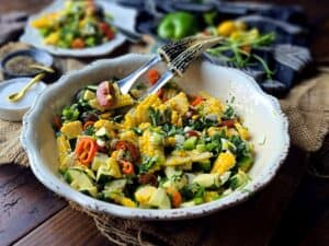 the best healthy corn salad