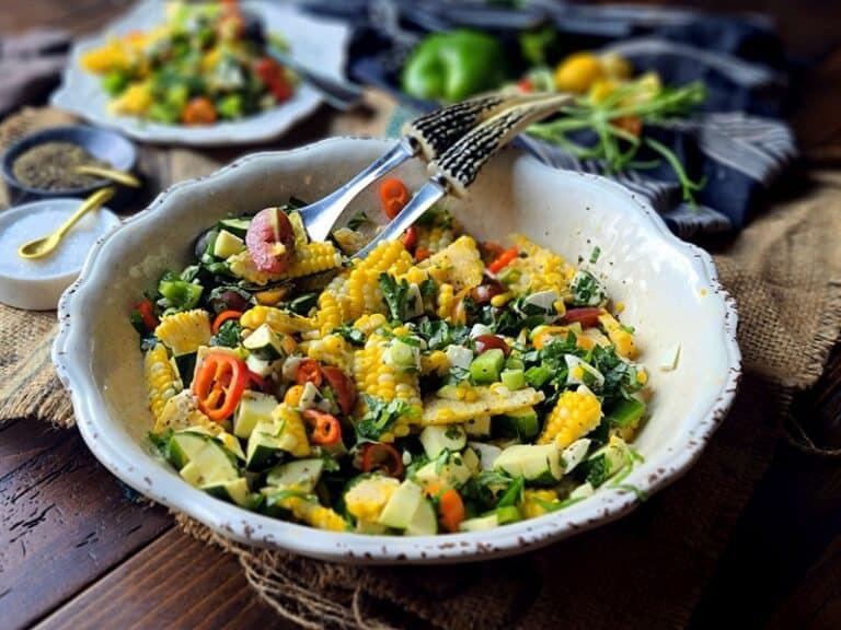 The Best Healthy Fresh Corn Salad