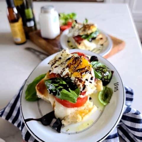 The Easy Killer Caprese Breakfast Sandwich