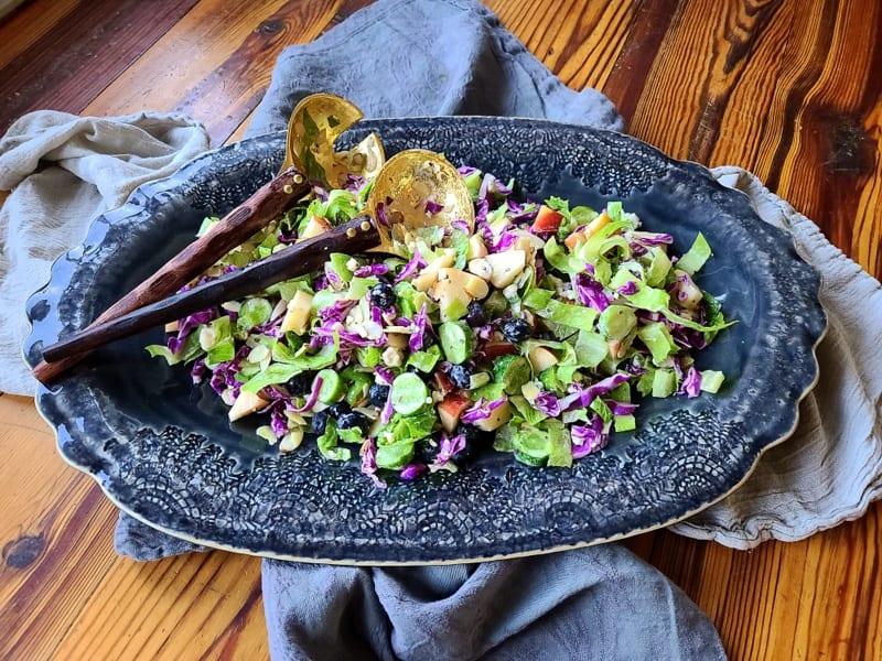 The Best Purple Cabbage Salad