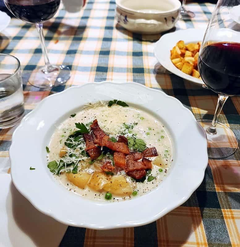 the best tuscan potato soup